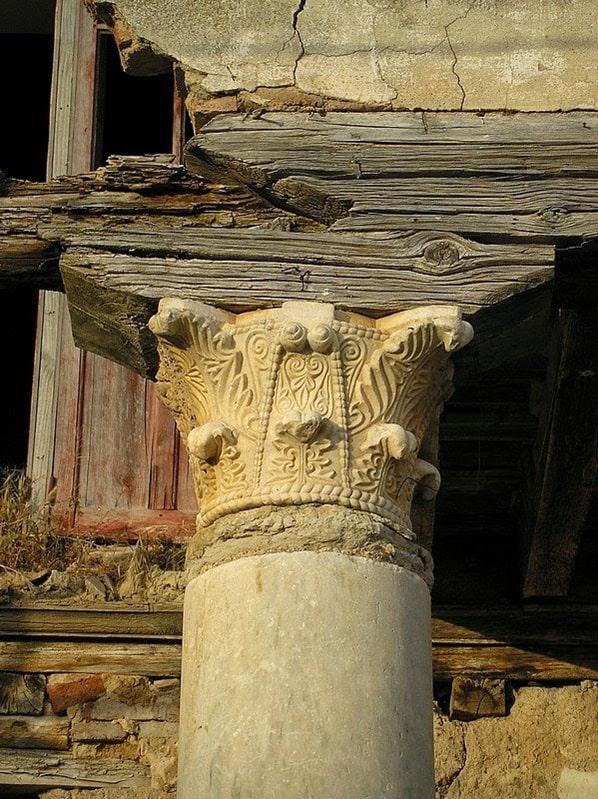 Capitel, San Román de Hornija - Orígenes de Europa