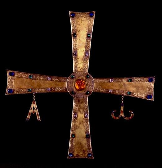 Cruz, catedral de León - Orígenes de Europa
