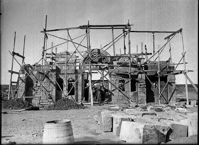 Montaje en El Campillo 1930-1932 - Orígenes de Europa