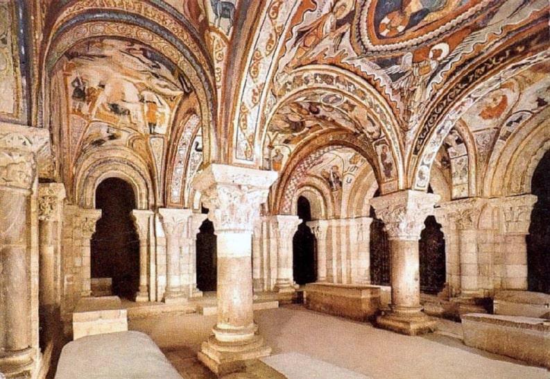 Real Colegiata de San Isidoro (interior) - Orígenes de Europa