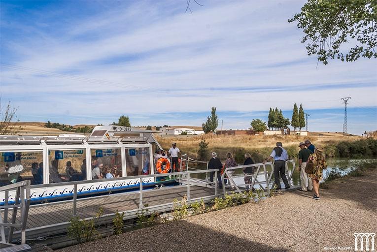 Canal de Castilla en Villaumbrales, paseo en barco - Orígenes de Europa