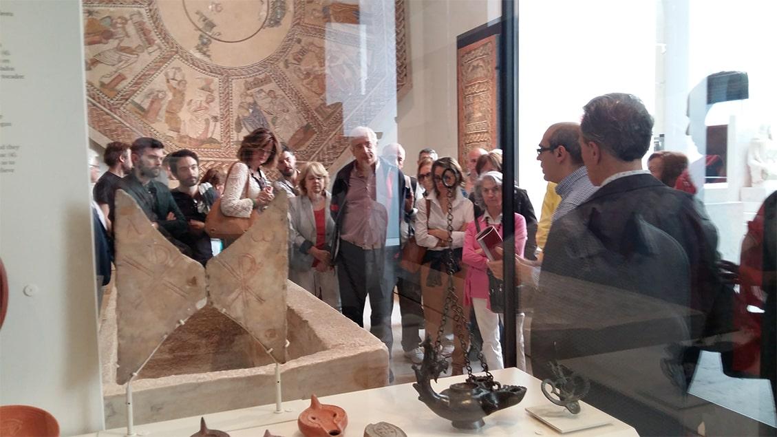Piezas de la sección de antigüedades medievales Museo Arqueológico Nacional - Orígenes de Europa