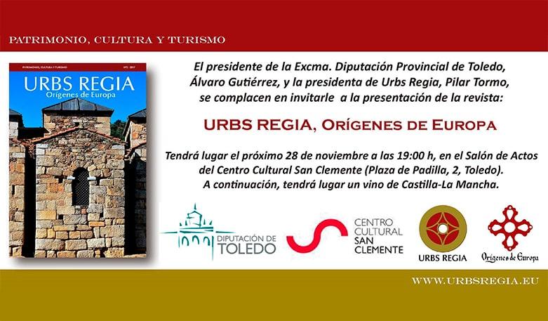Presentación de la Revista Urbs Regia - Orígenes de Europa