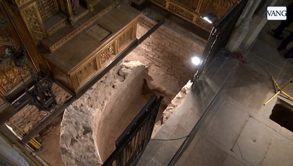 Abside y Cripta visigodos, museo de historia de Barcelona - Orígenes de Europa