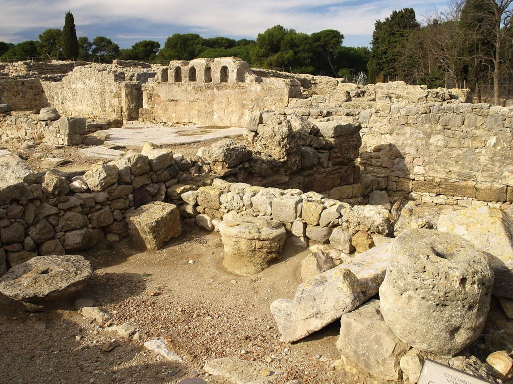 Basílica de Ampurias- Orígenes de Europa