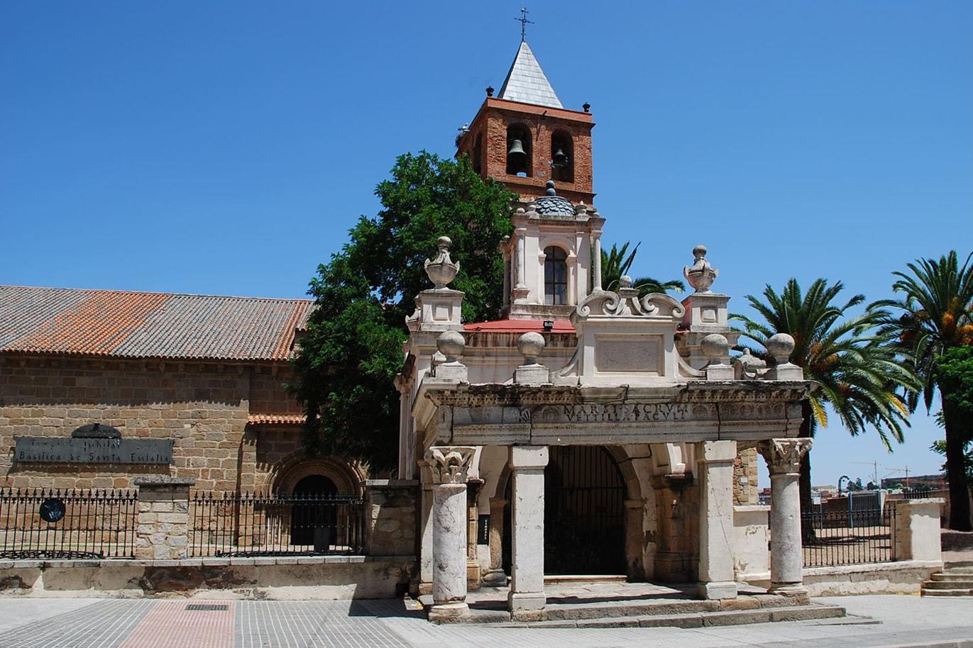 Basílica de Santa Eulalia - Orígenes de Europa