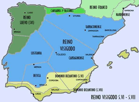Basílica visigoda, villa de la Cocosa - Orígenes de Europa