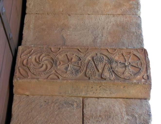 Capiteles del interior de la Iglesia de San Pedro de la Nave- Orígenes de Europa