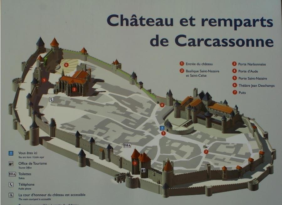 Ciudad De Carcasona Orígenes de Europa