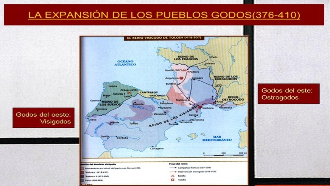 Expansión de los pueblos godos - Orígenes de Europa