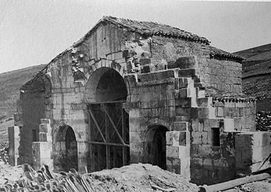 Imagen de su recolocación en 1930 - Orígenes de Europa