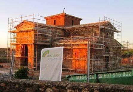 Obras de restauración de la iglesia de san pedro de la nave - Orígenes de Europa