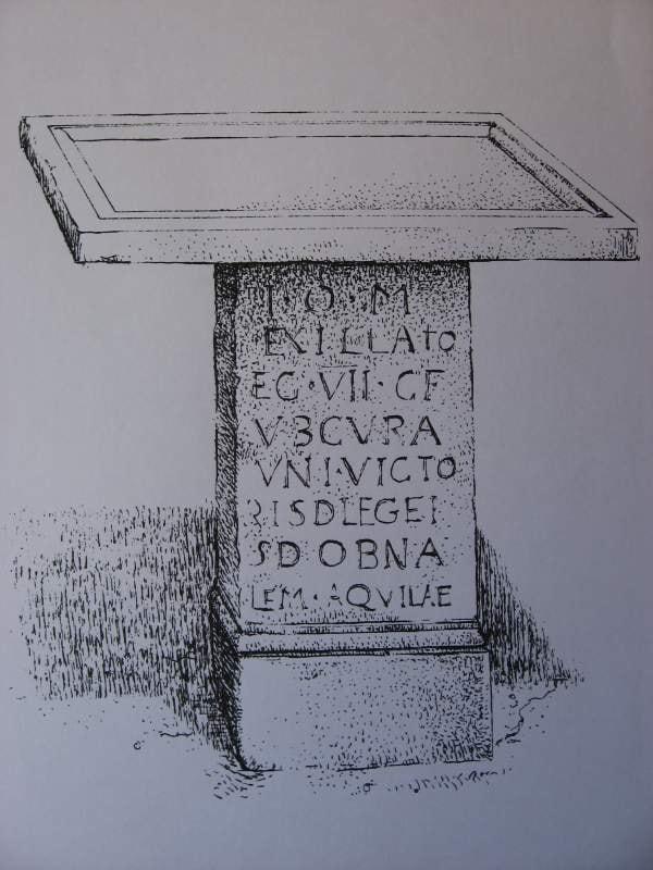 Restitución del conjunto del altar, basílica de Ampurias - Orígenes de Europa