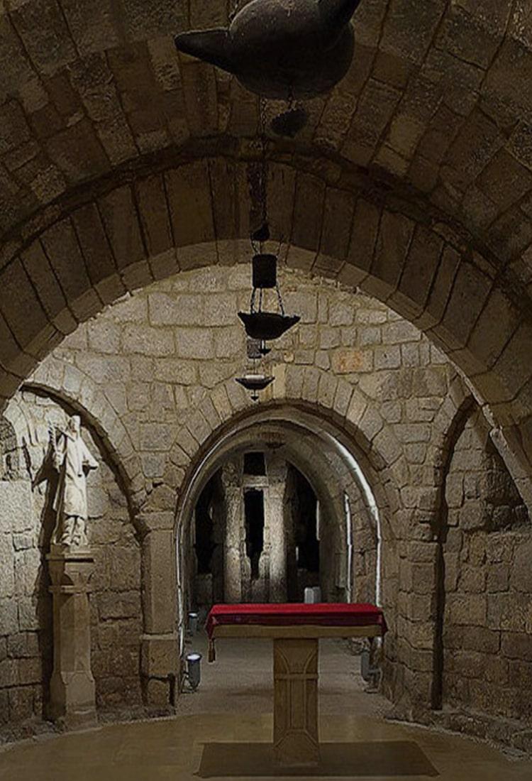 Cripta de San Antolín - Orígenes de Europa