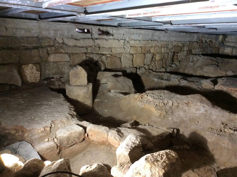 Restos arqueológicos de la basílica de S. Martinho de Dume - Orígenes de Europa