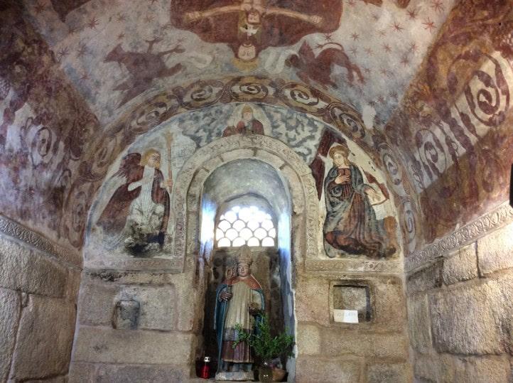 Templo Santa Comba de Bande - Orígenes de Europa