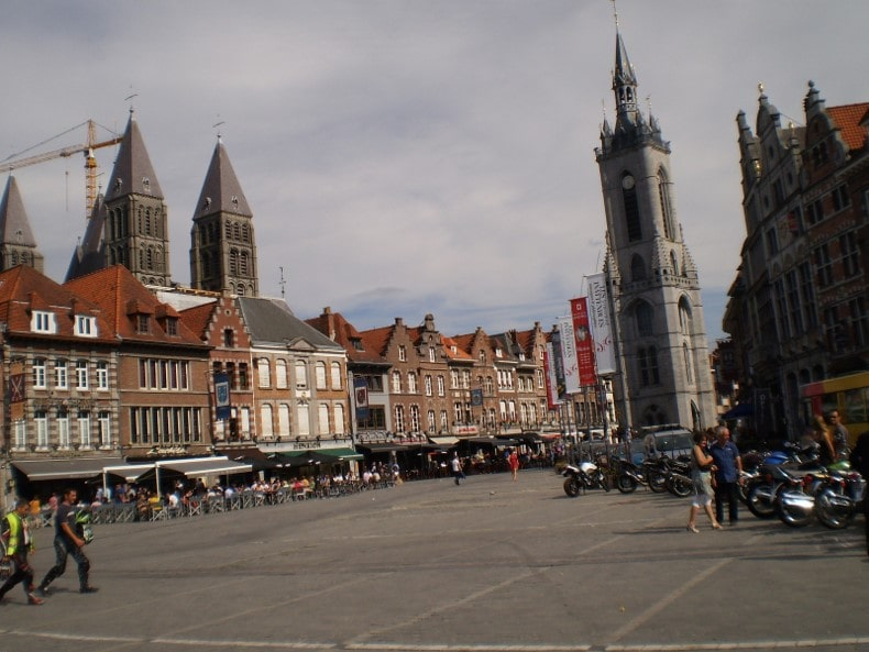 Tournai (Bélgica) - Orígenes de Europa